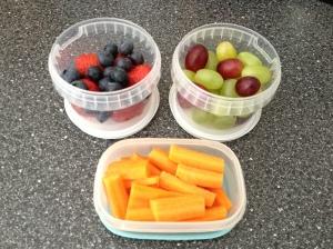 Fruit & Veg Snack Pots
